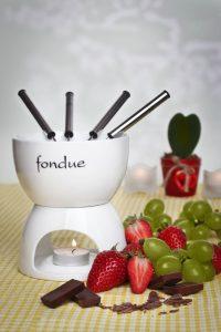 Ceramiczny Zestaw Fondue do Kuchni